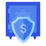 Vault with Shield - Explore Health Insurance