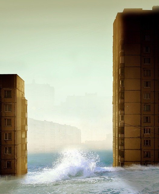 A flood coming - Flood Insurance