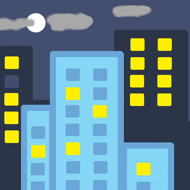 City and night sky - Renters Insurance