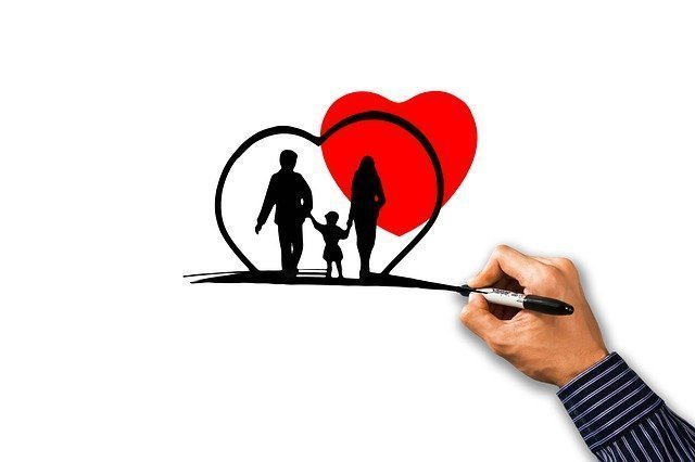 A Family in a heart - Term Life Insurance