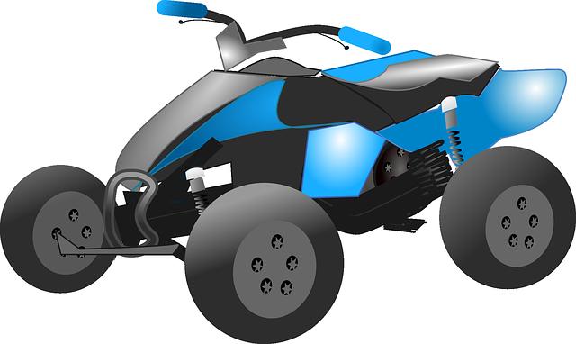 Blue ATV - ATV & UTV insurance
