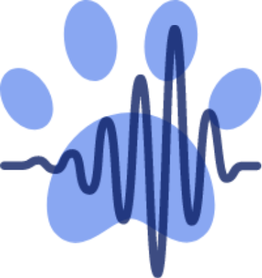 Paw print with heartbeat - pet insurance
